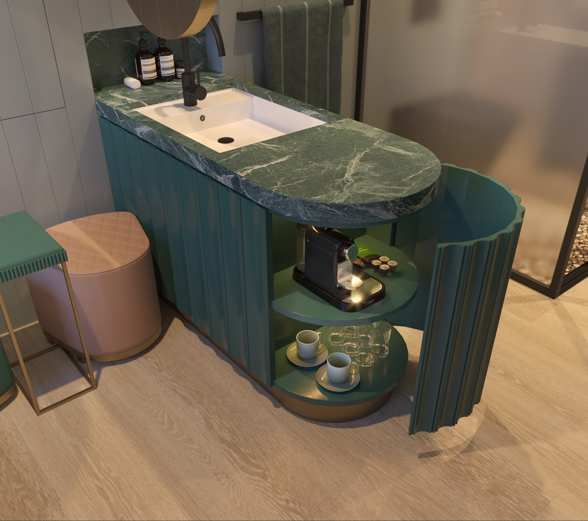 Micro Hotel Concept Room Proves Good Things Do Come In Small