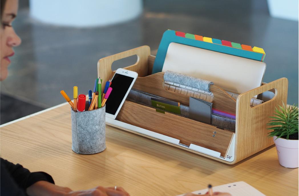 Portable desk toolbox Gustav