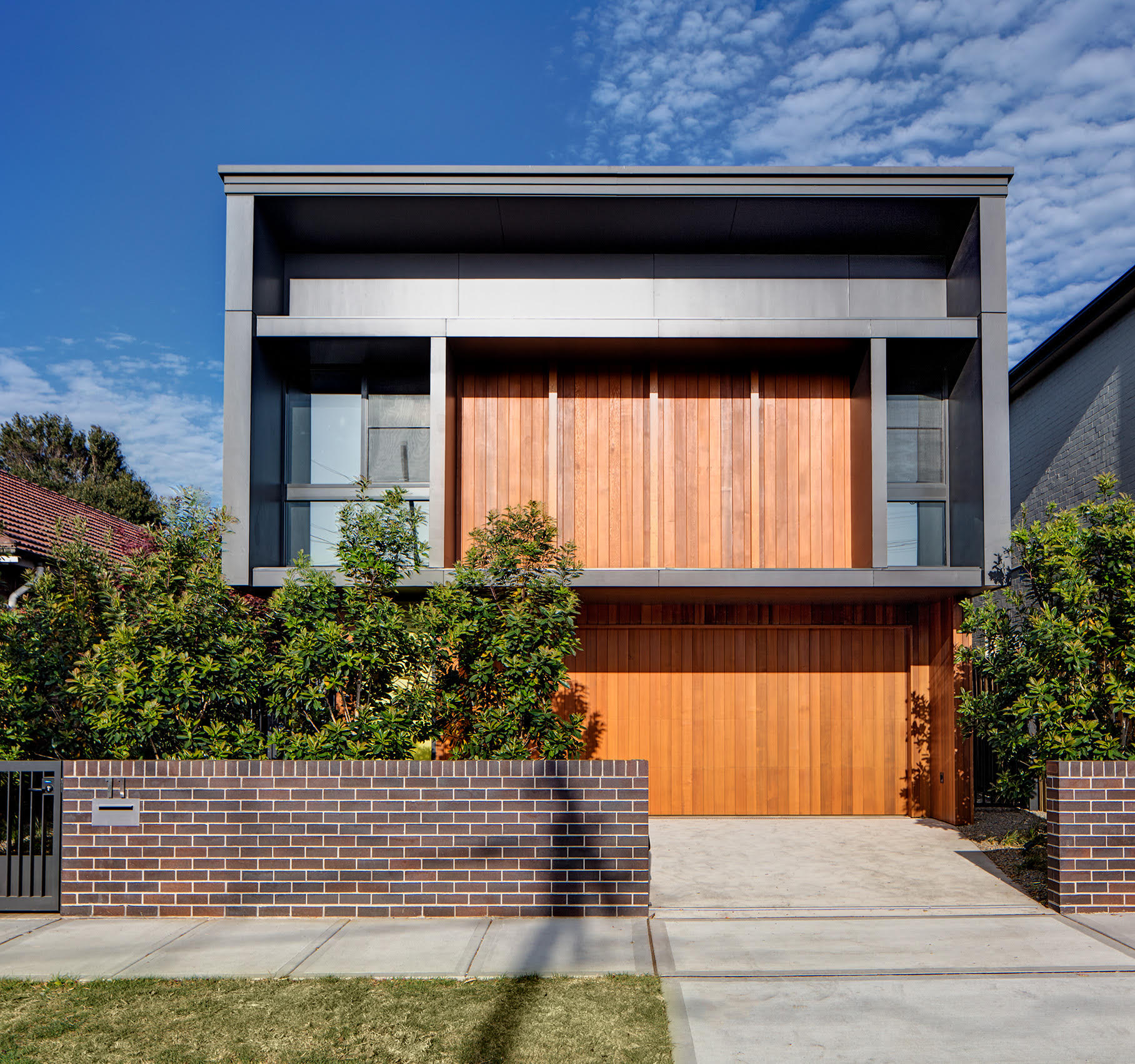 Exterior of the Randwick house by Ben Giles