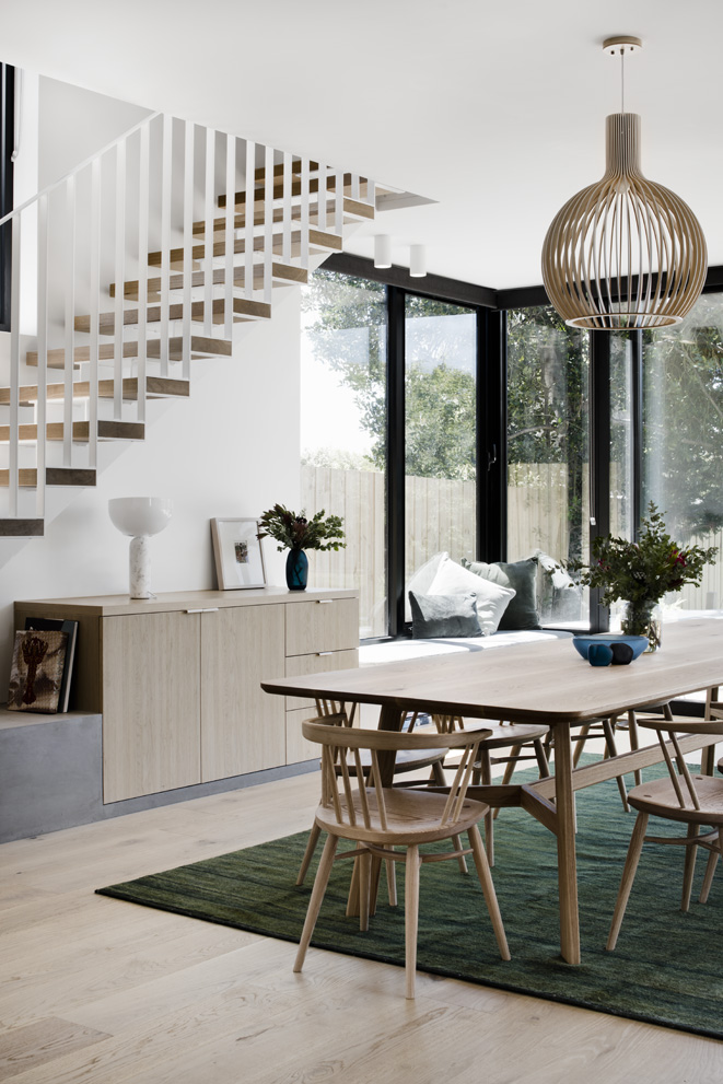 Kitchen of Flinders house by Techne