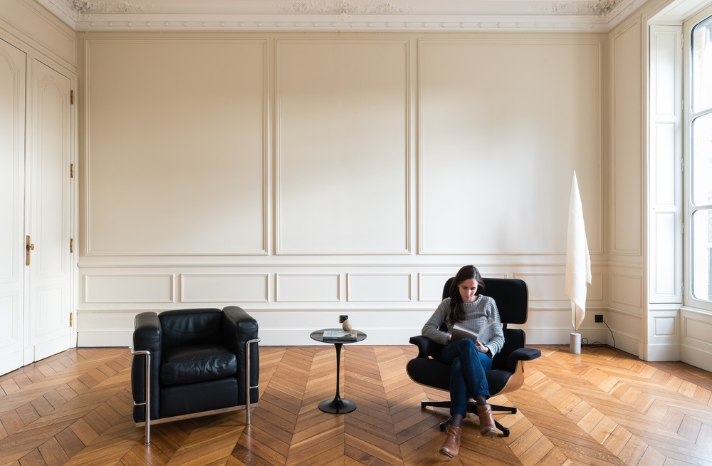 Living room in Bordeaux house
