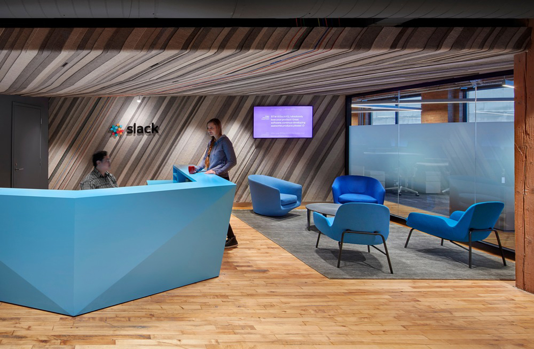 Slack's Toronto office honouring the legacy of the building