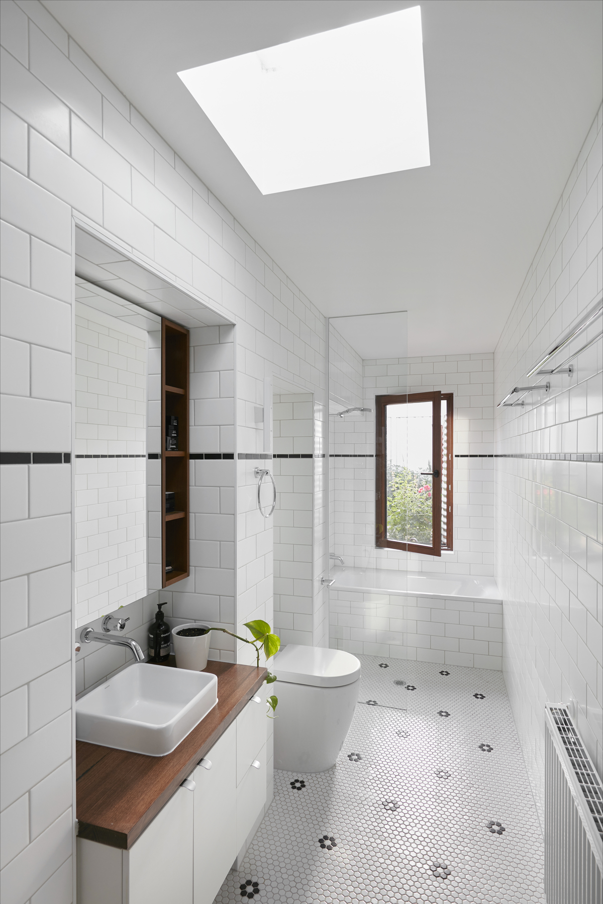 The skinny bathroom