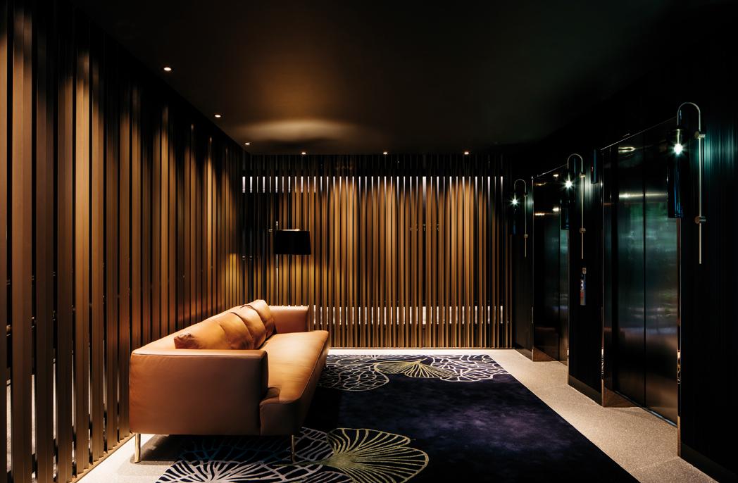 West Hotel lobby