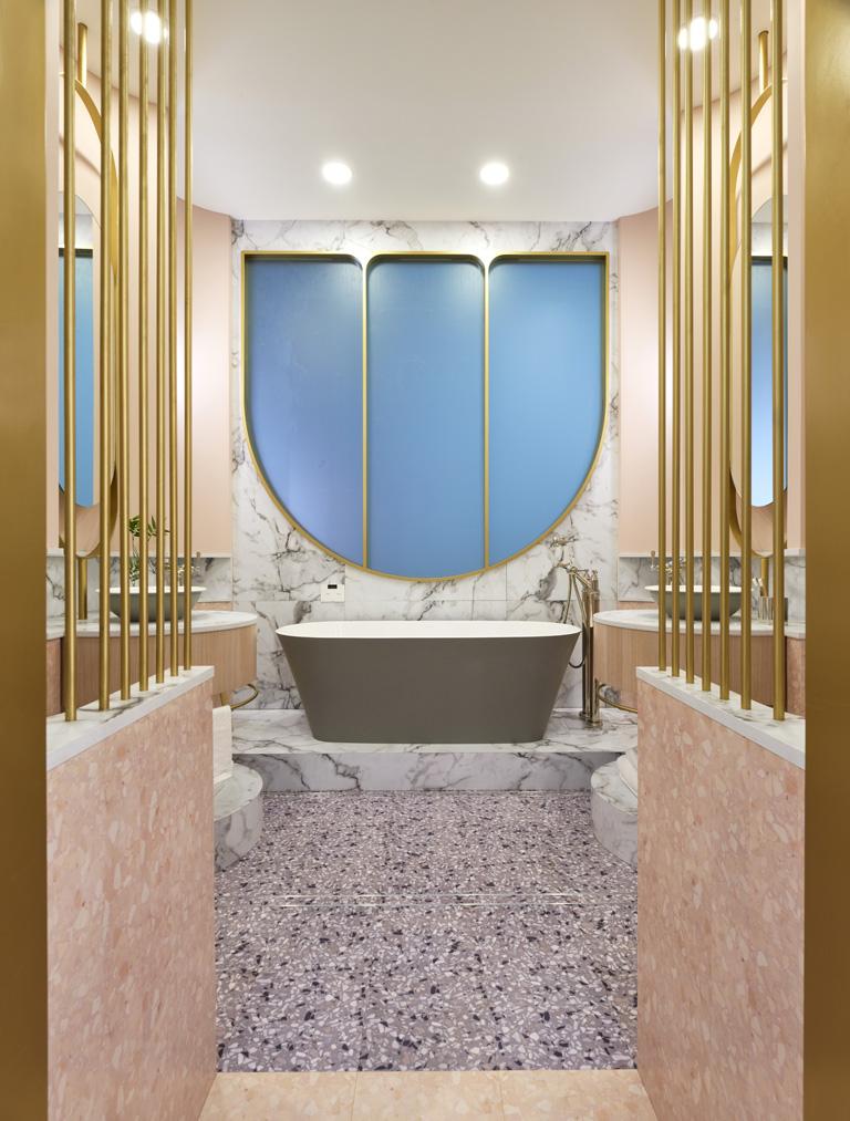 Bathroom by Renee Popovic