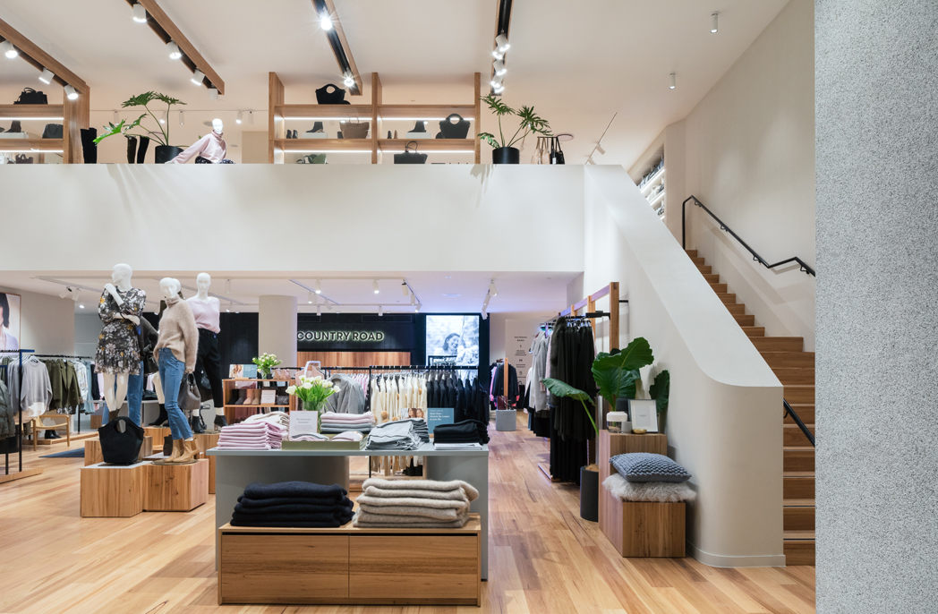 The new Country Road store at Bondi Junction