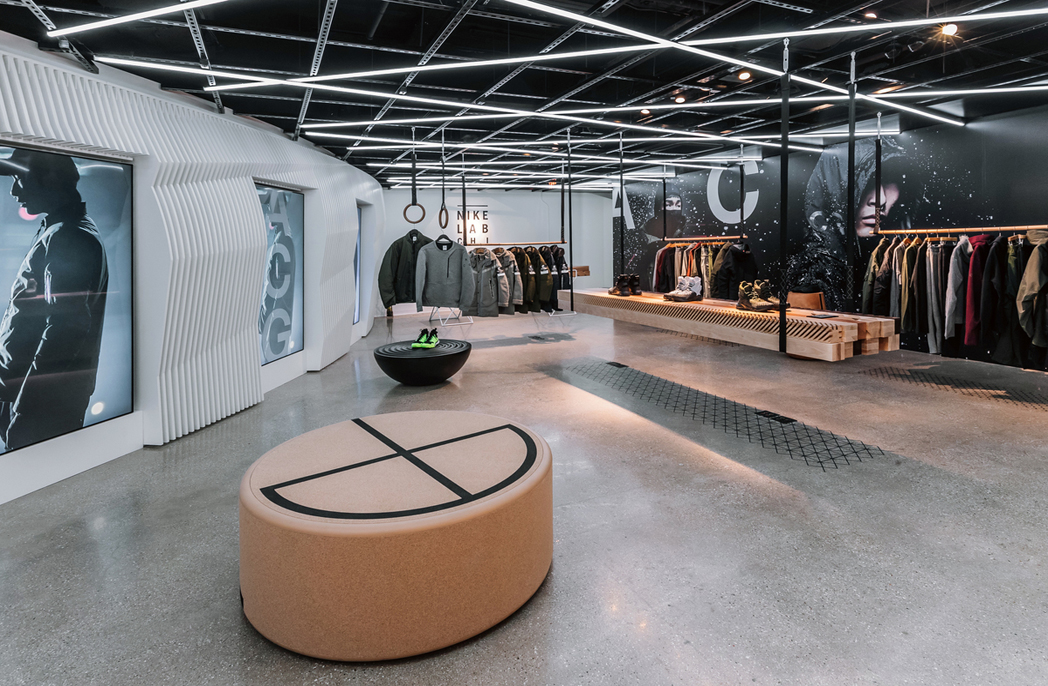 NikeLab stores in Chicago and NYC