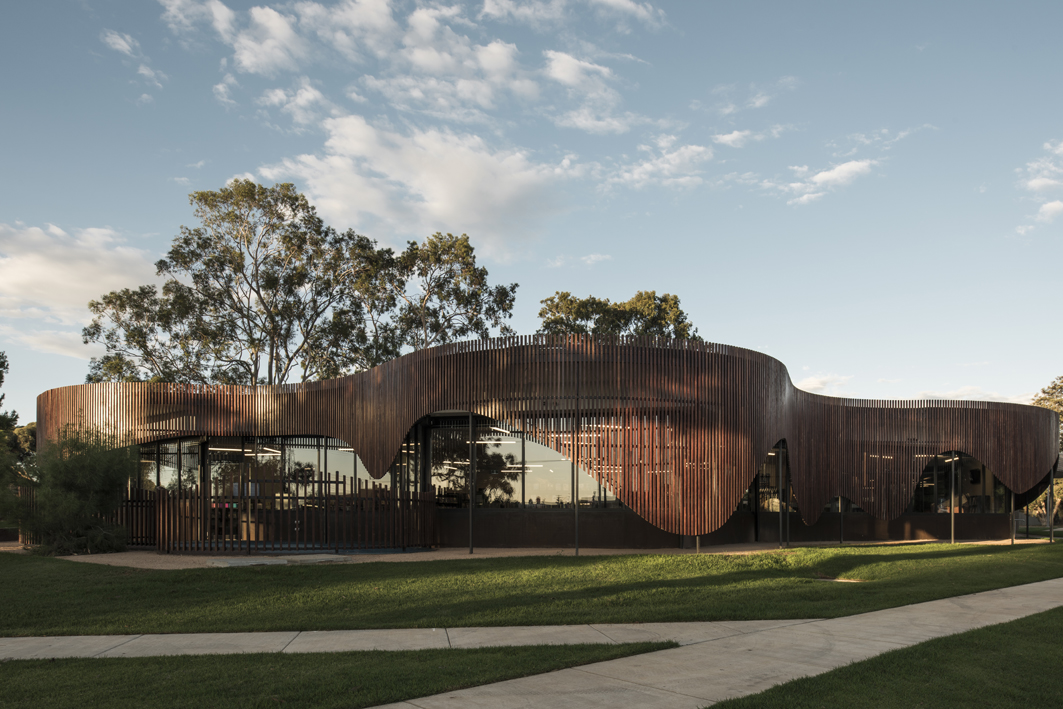 Cobram library from the exteriro