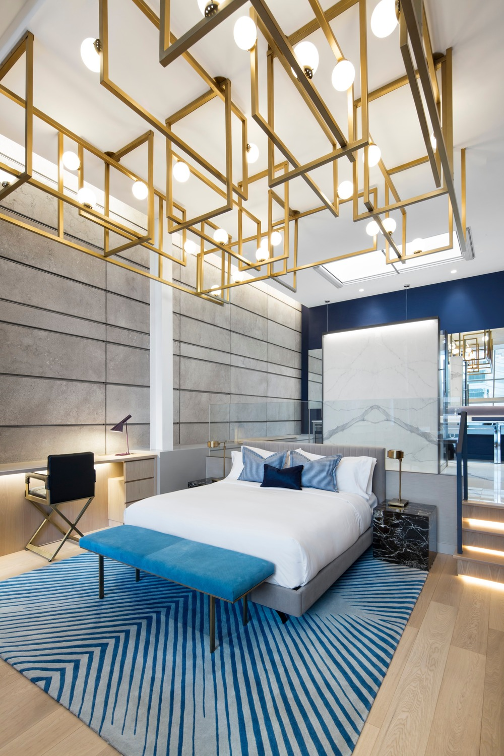 The bed in the W hotel