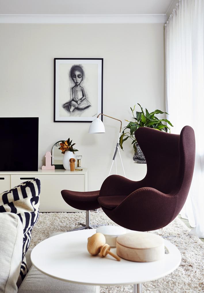 A chair in Angela Ferguson's house