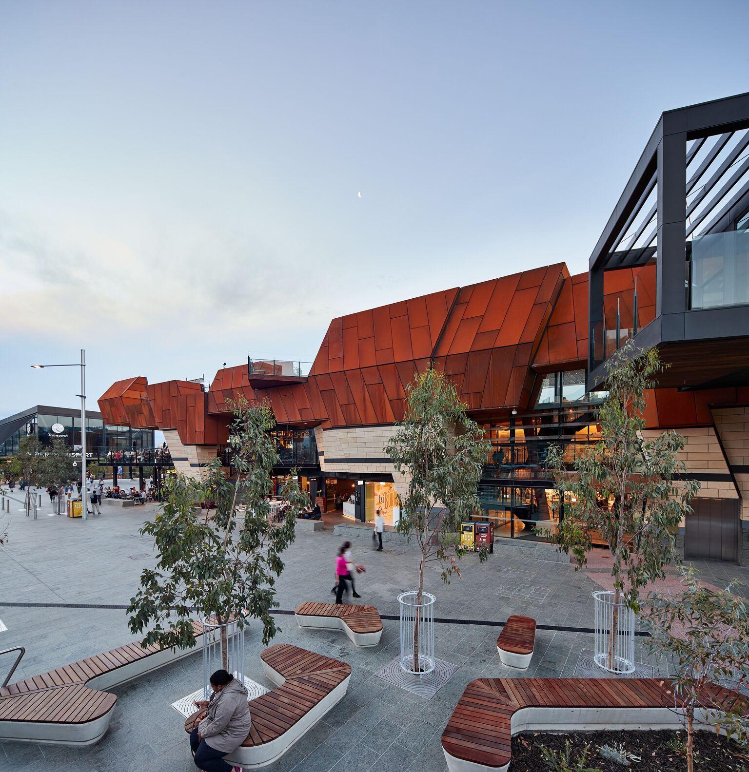 Yagan Square in Perth