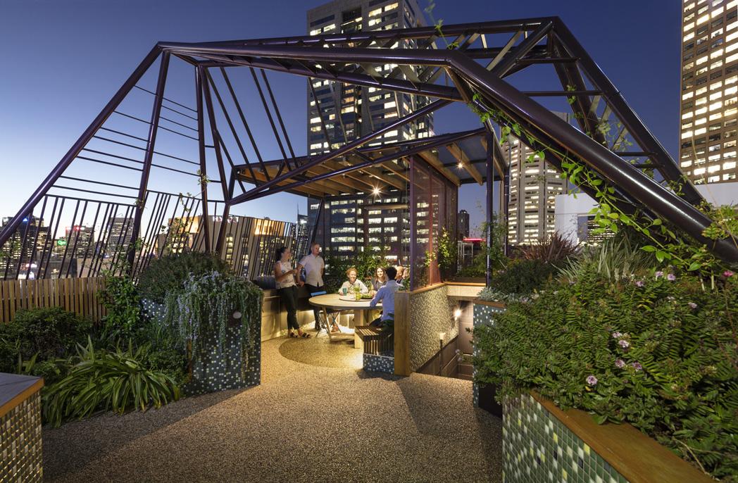 Designing a roof garden 30-storeys high - Australian ...