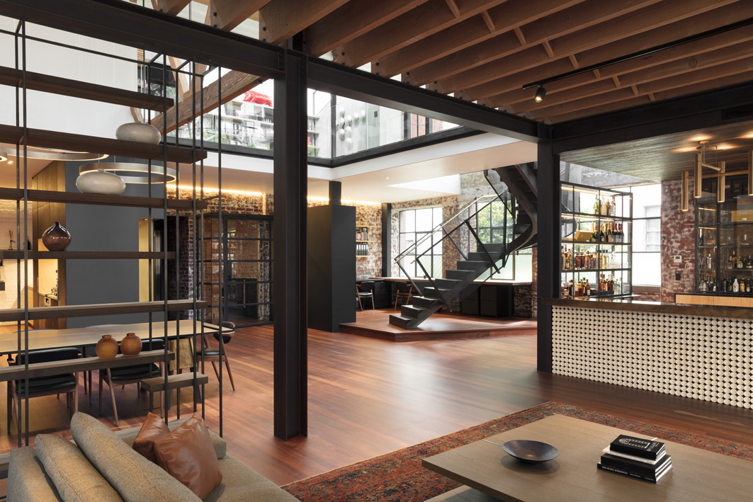 Warehouse designed by Centrum Architects