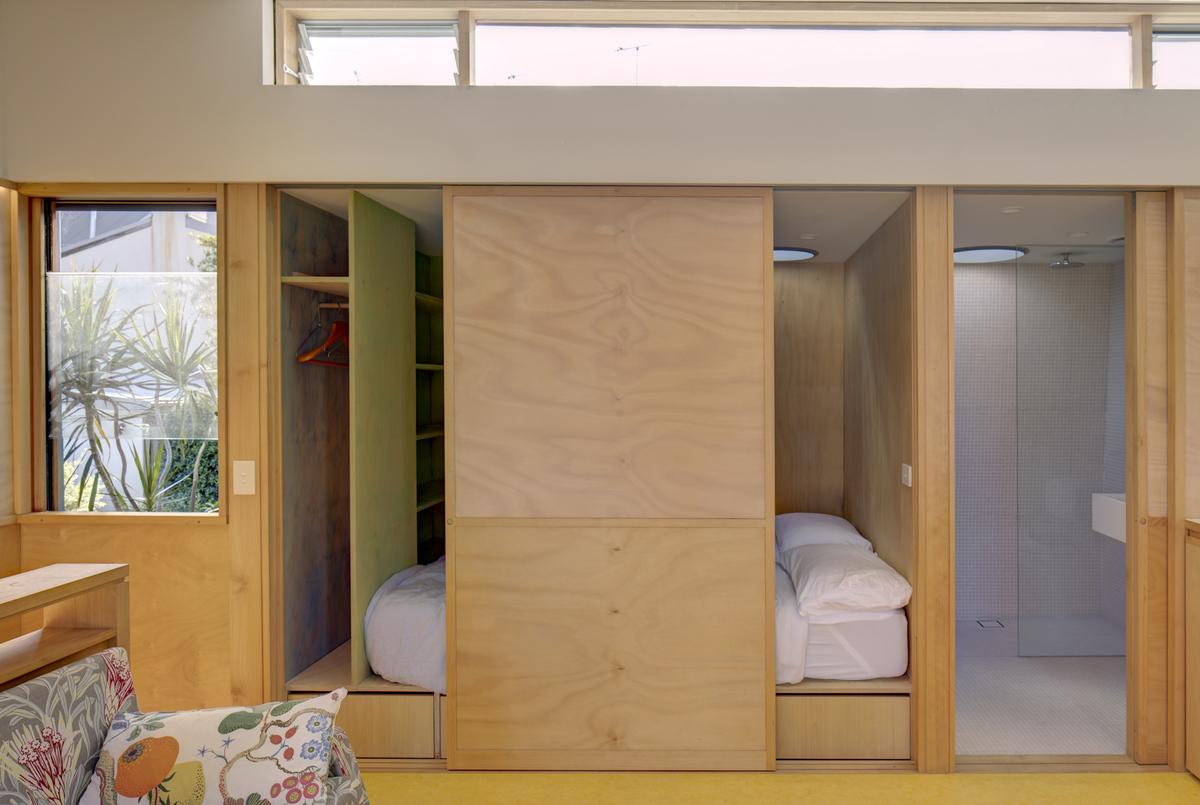 Sliding doors ensure the best use of space