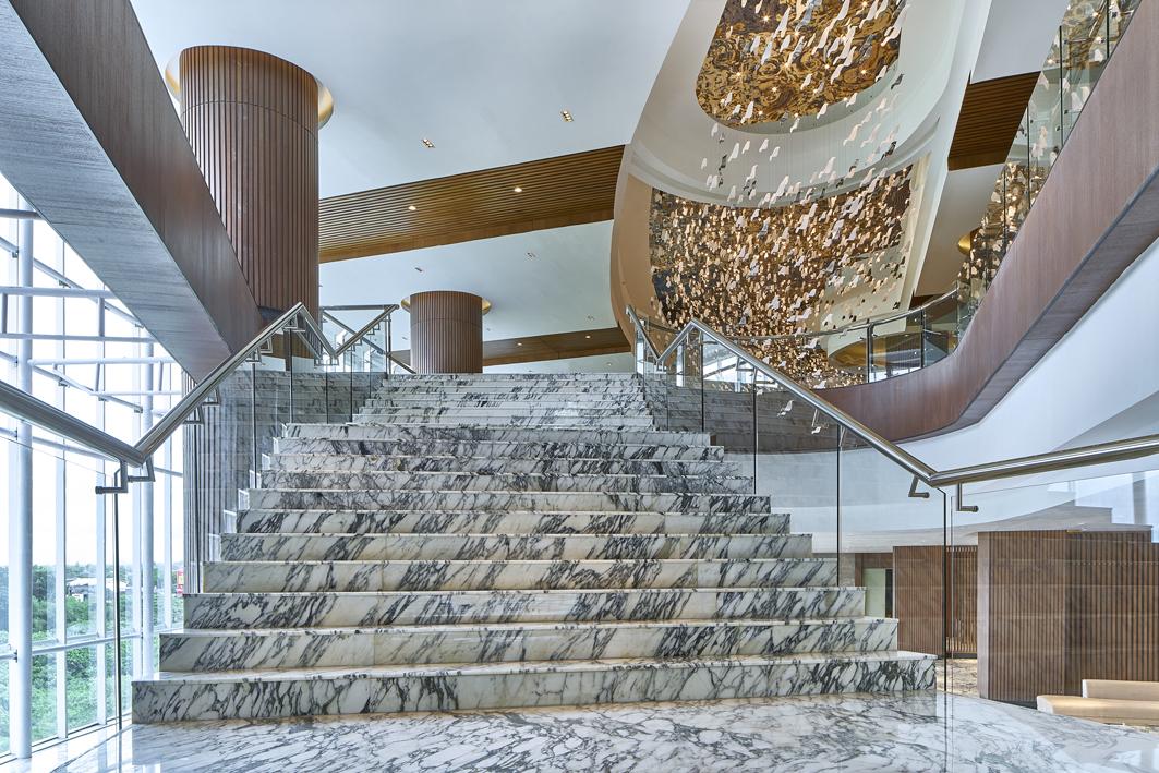 Ballroom Foyer Staircase