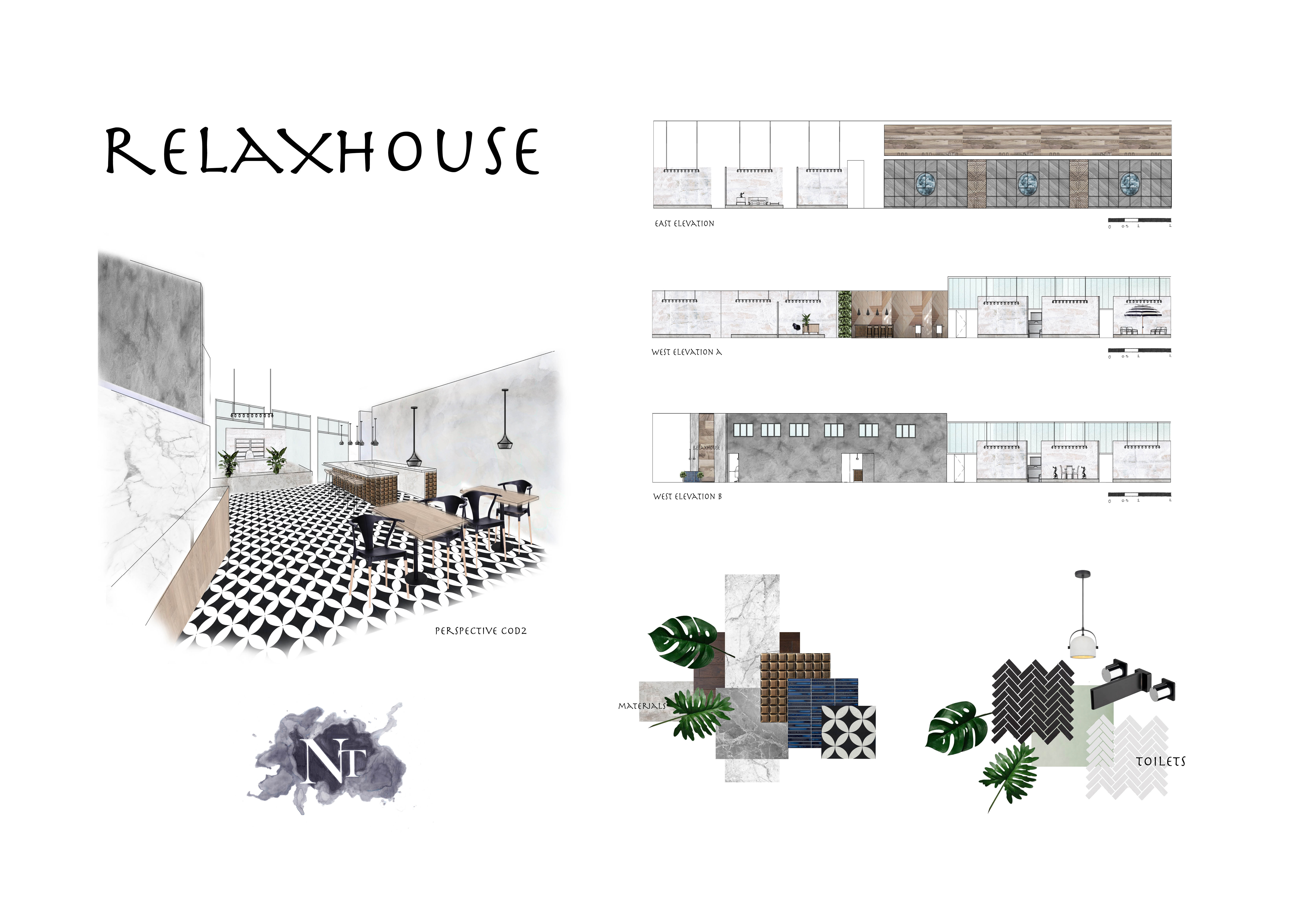 Concept for Relaxhouse