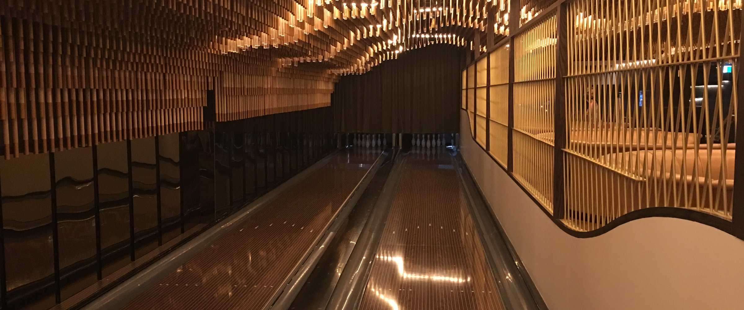 Kingpin bowling at Crown