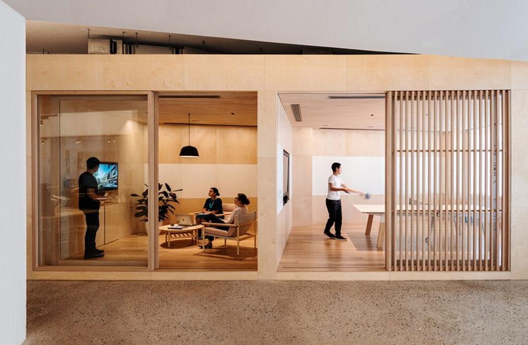 Hayball's Sydney office