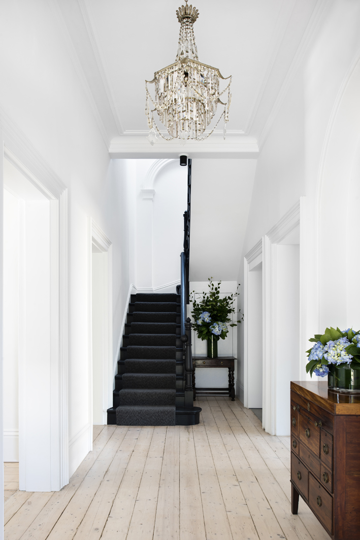 Staircase in the Clark House in Melbourne