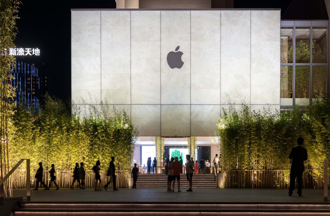 The new Apple store in Macau, China