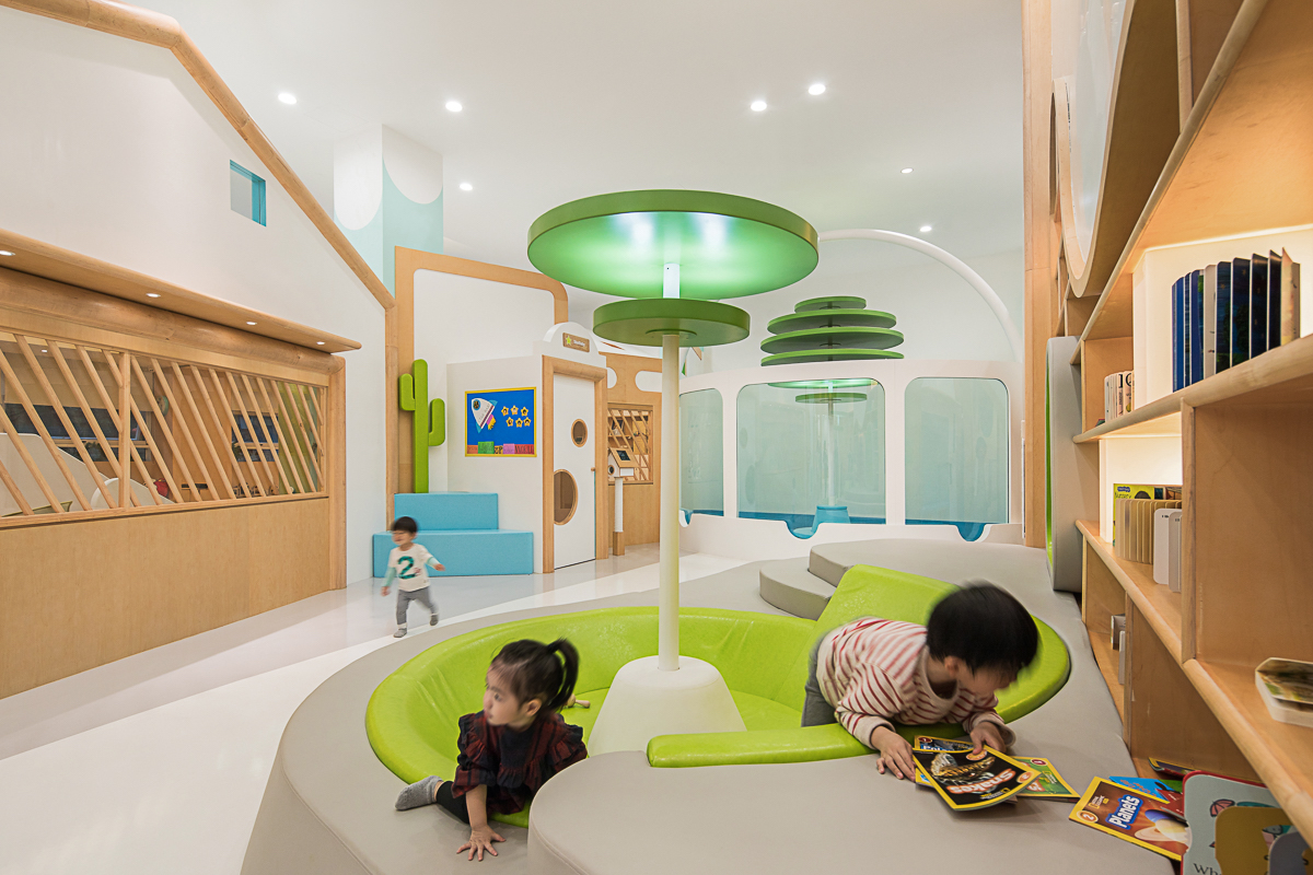 BeneBaby International Daycare reading room