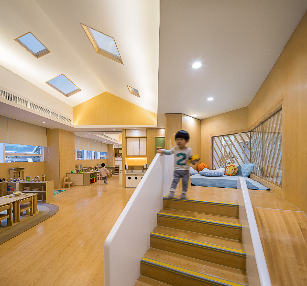 BeneBaby International Daycare stairs