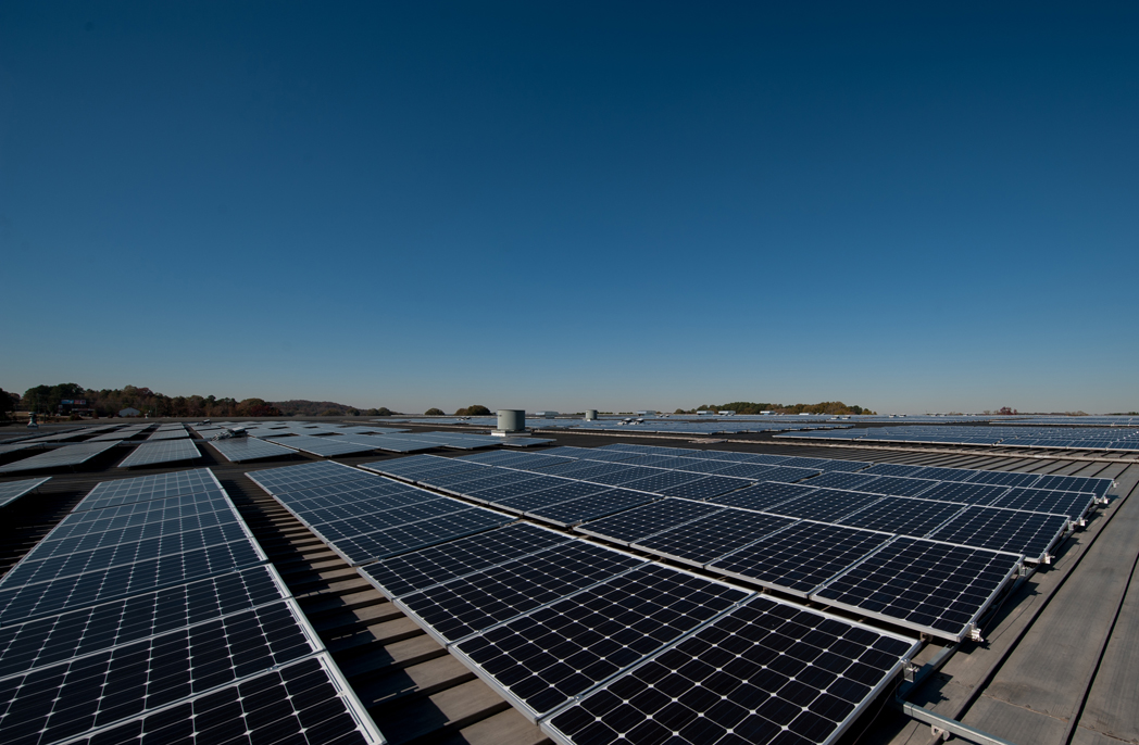 Our PV solar array at Plant X in Cartersville, Georgia USA.