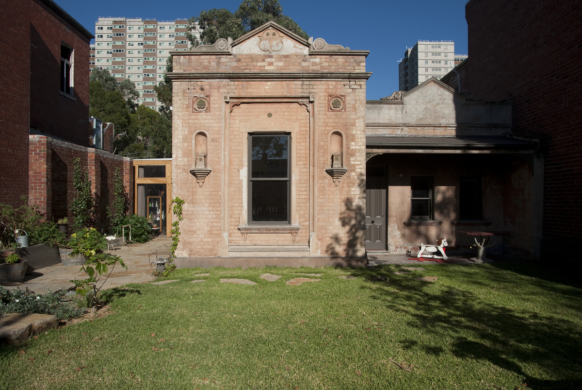 The victorian facade
