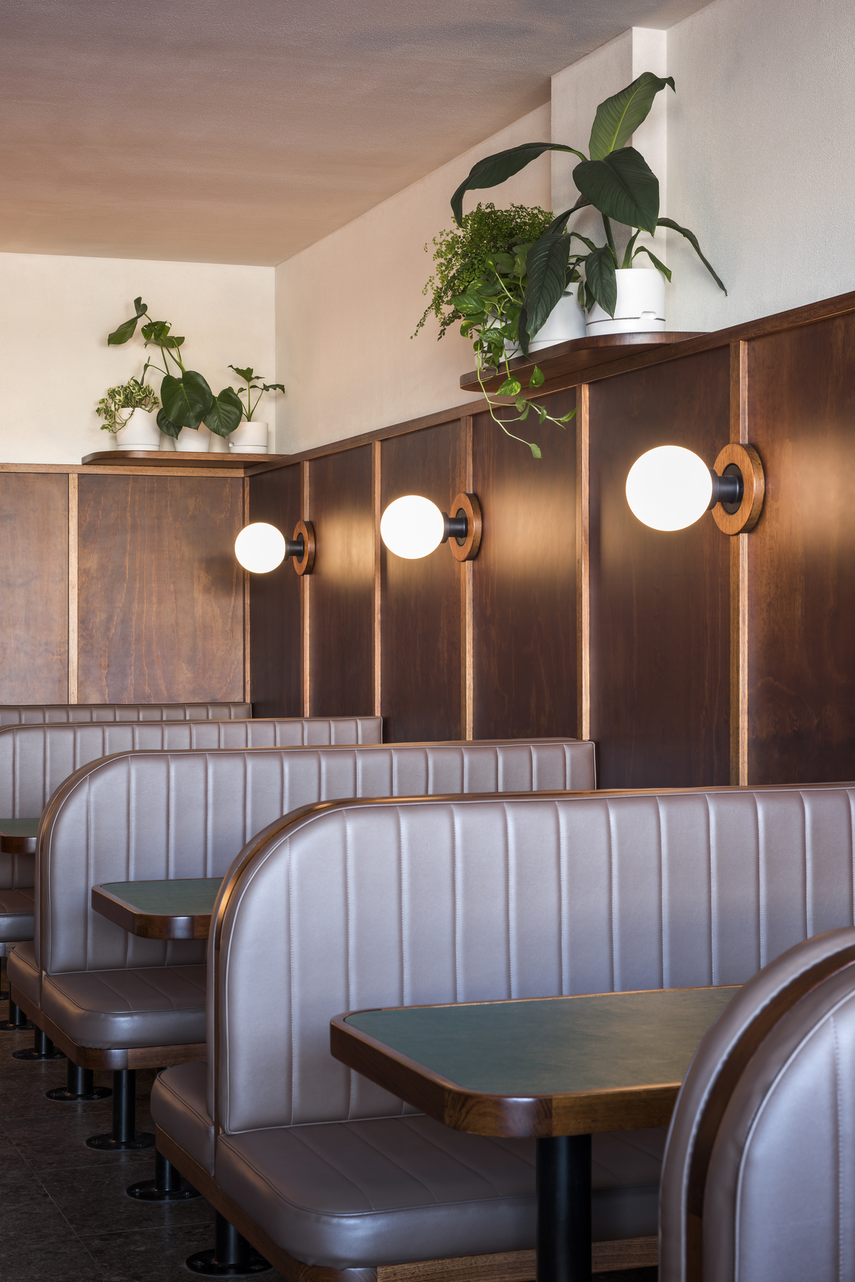 Booths at Anchovy Bandit
