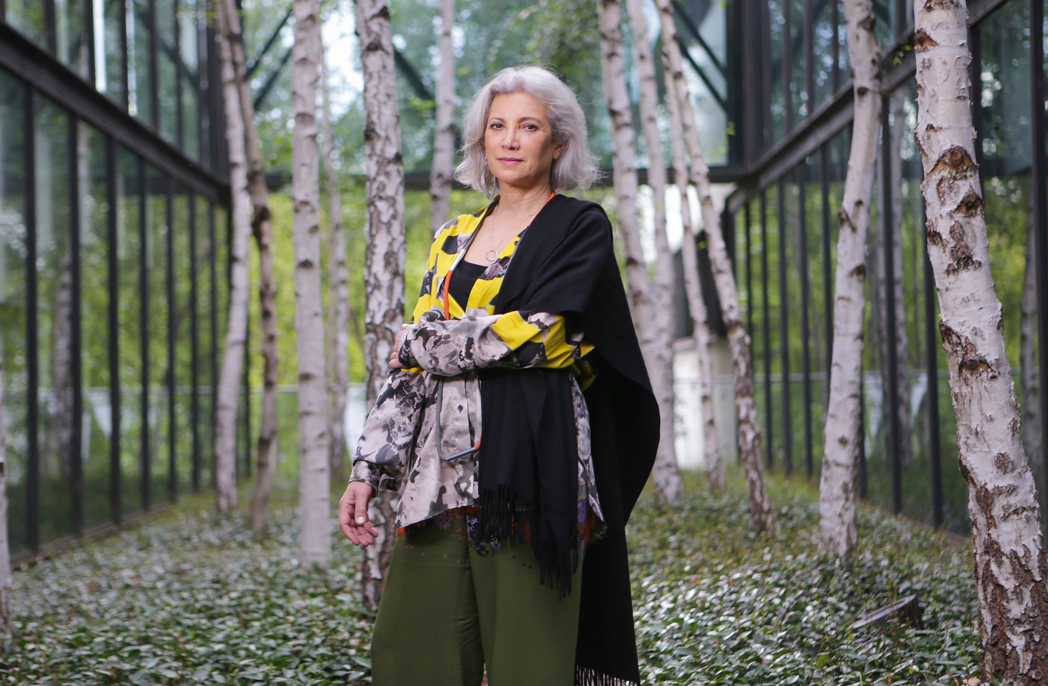Spanish architect Carme Pinos has been appointed to design the fifth of the Naomi Milgrom sponsored MPavilion temporary structures in Melbourne. Picture by Wayne Taylor 9th February 2018.