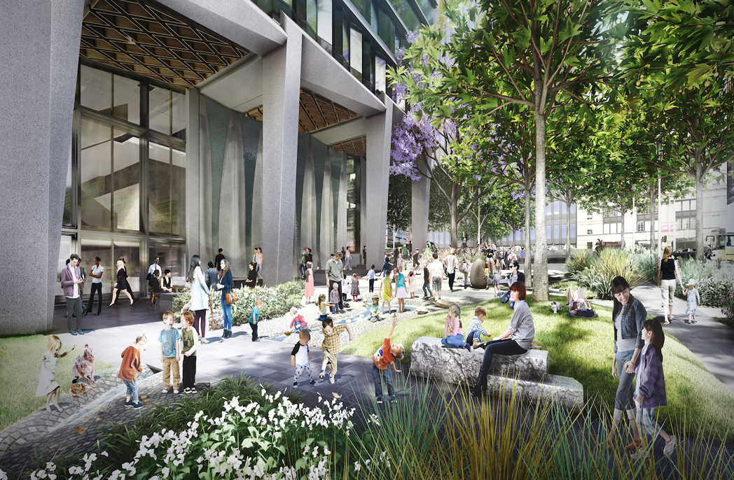 Market St Park_Playful Terrace_Artist's impression by OCULUS(web)