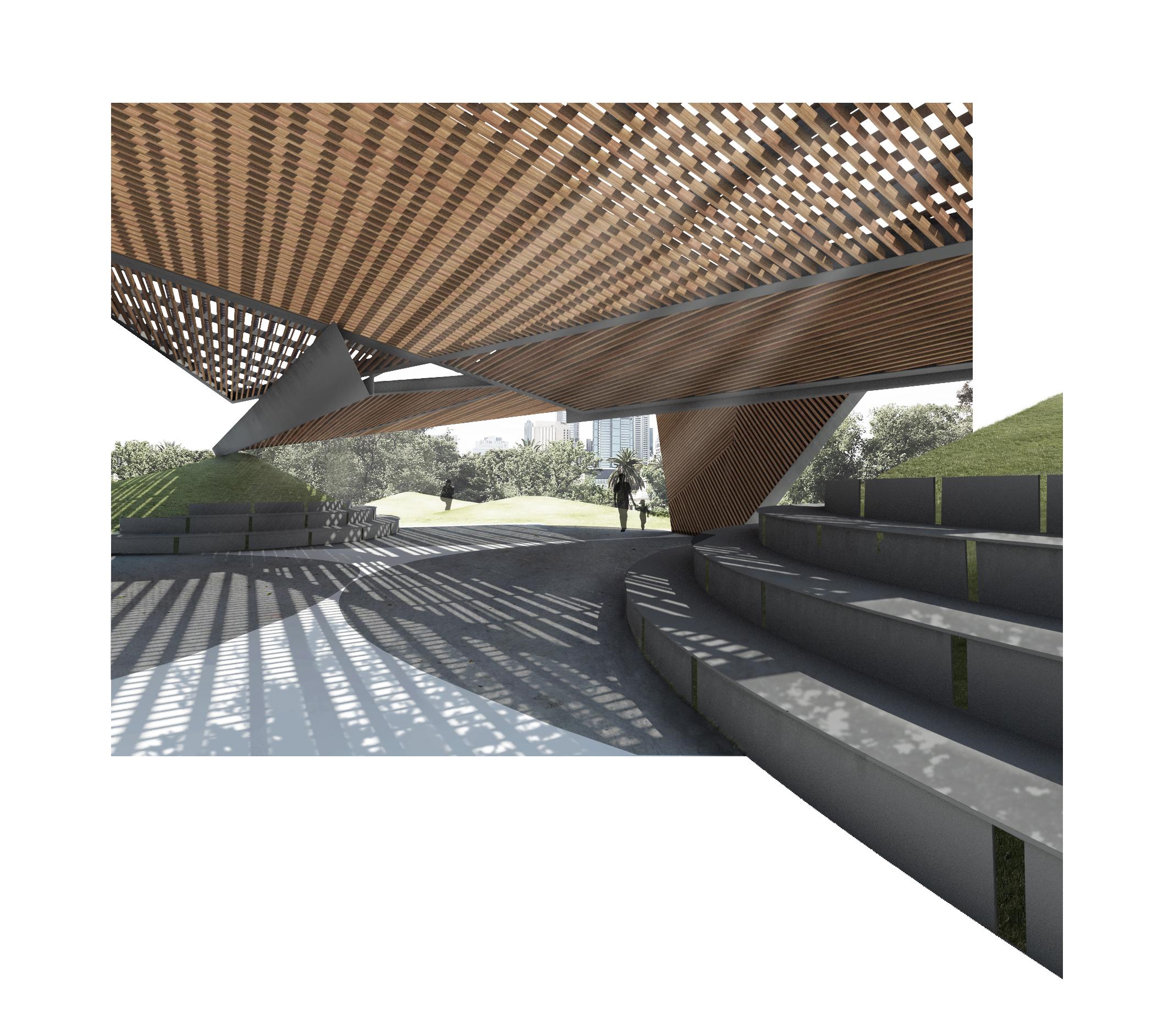MPavilion 2018 by Estudio Carme Pinós
