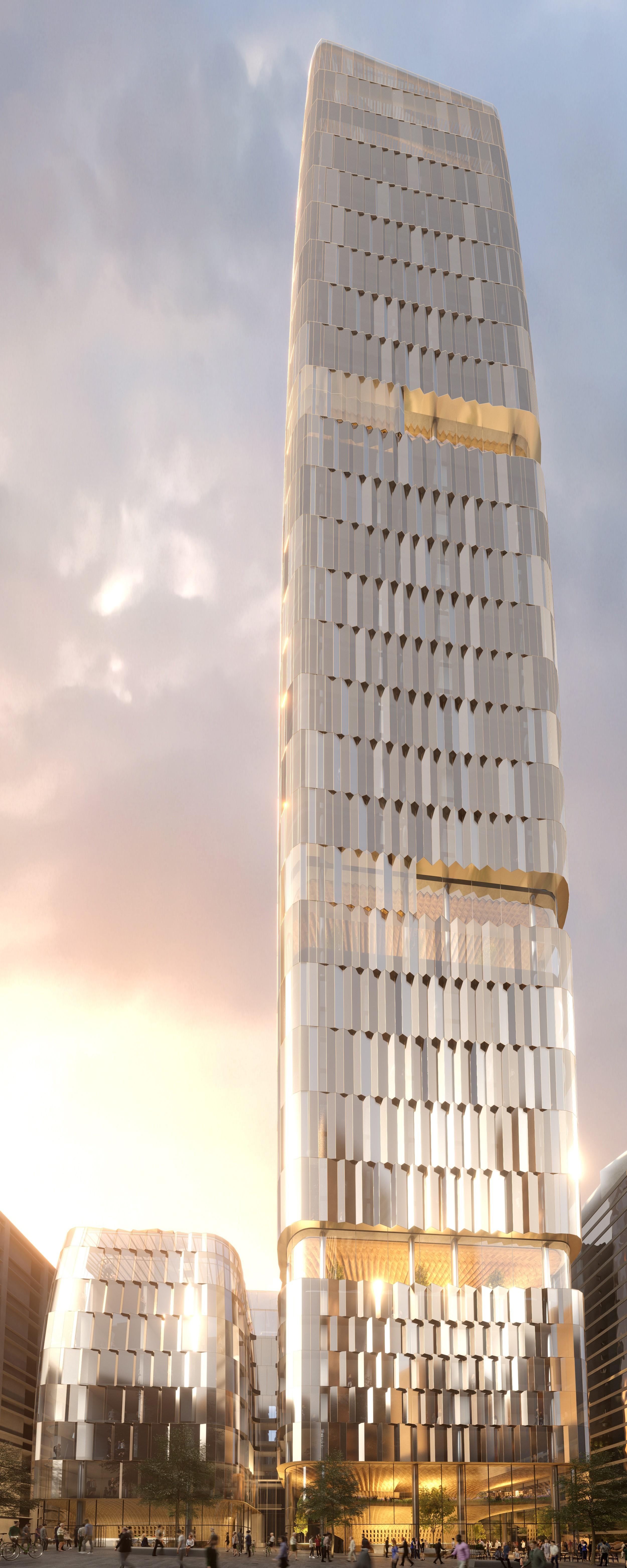Federal Street building elevation