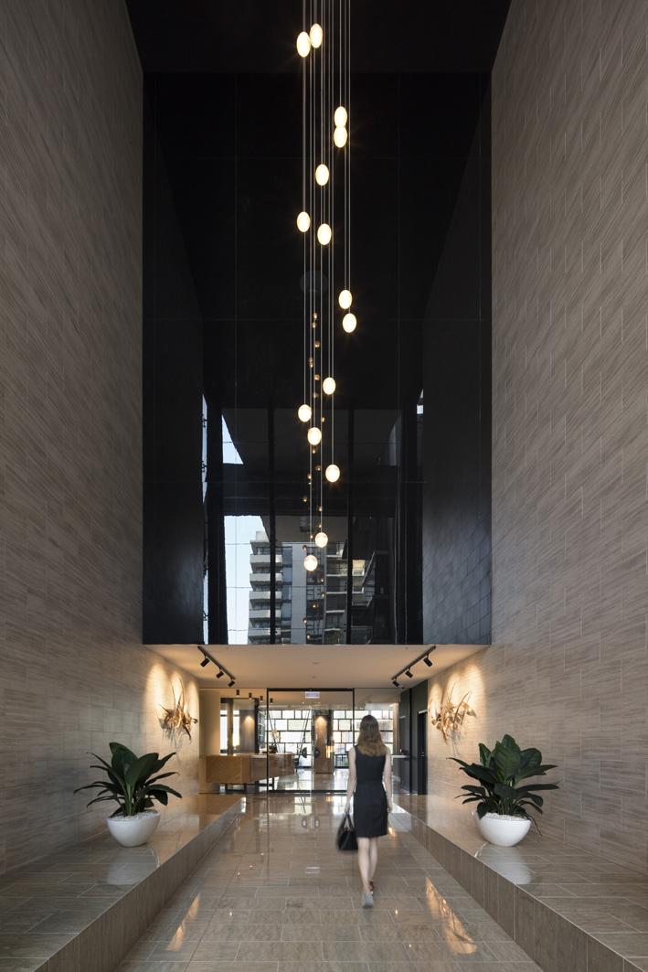 residential floor lobby