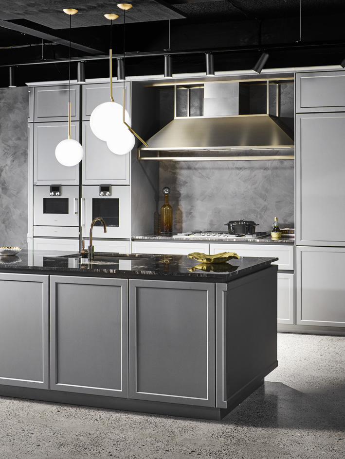 Massimo Isoa Ghini's Frame kitchen