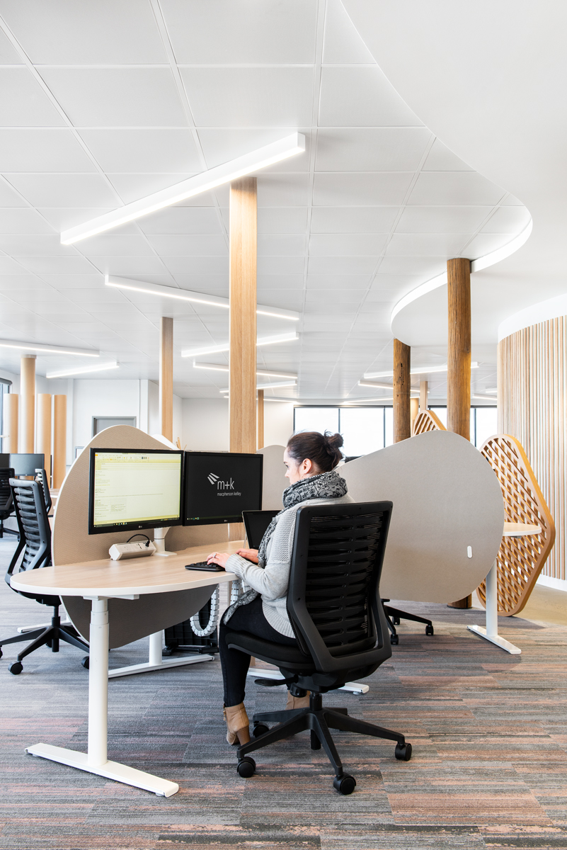 Workspace design for MK Lawyers