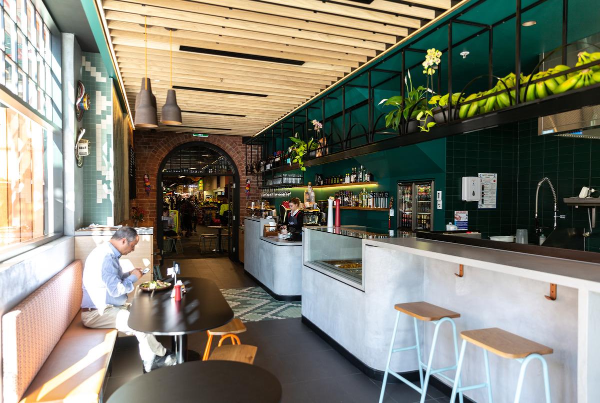 Cumbia Bar and Kitchen interior