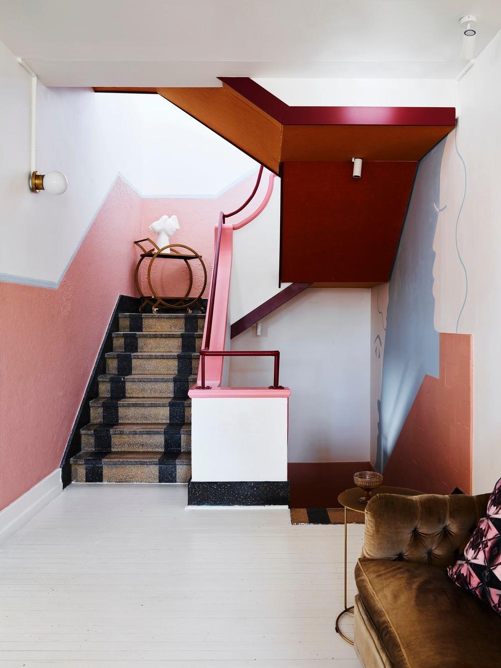 Pink hues at Imperial UP