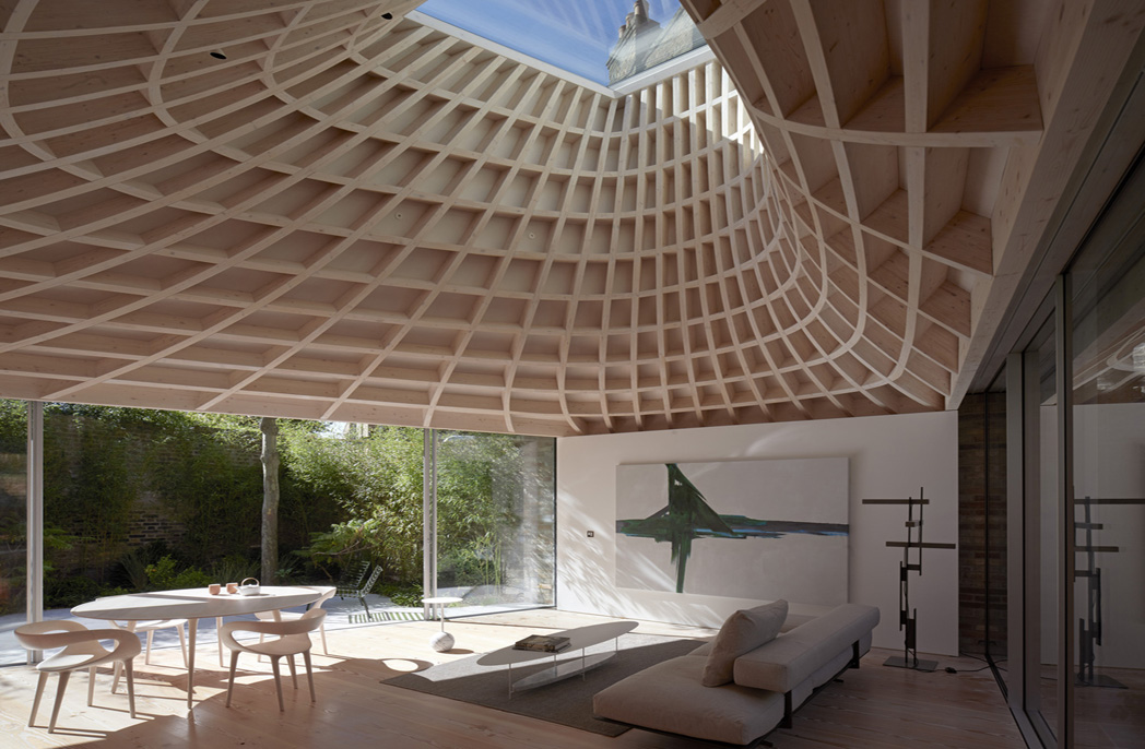 Gianni Botsford designed house with copper roof