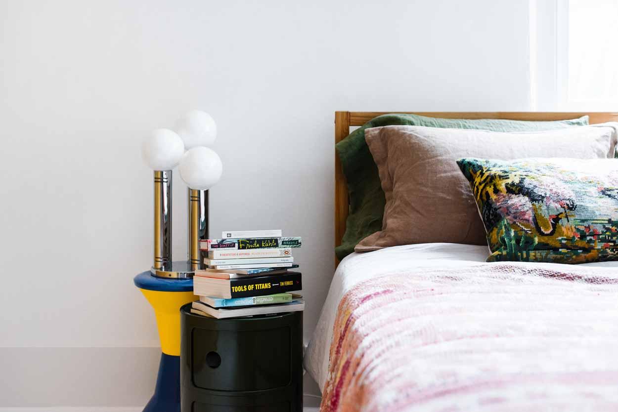 Bedroom of yasmine ghoniem