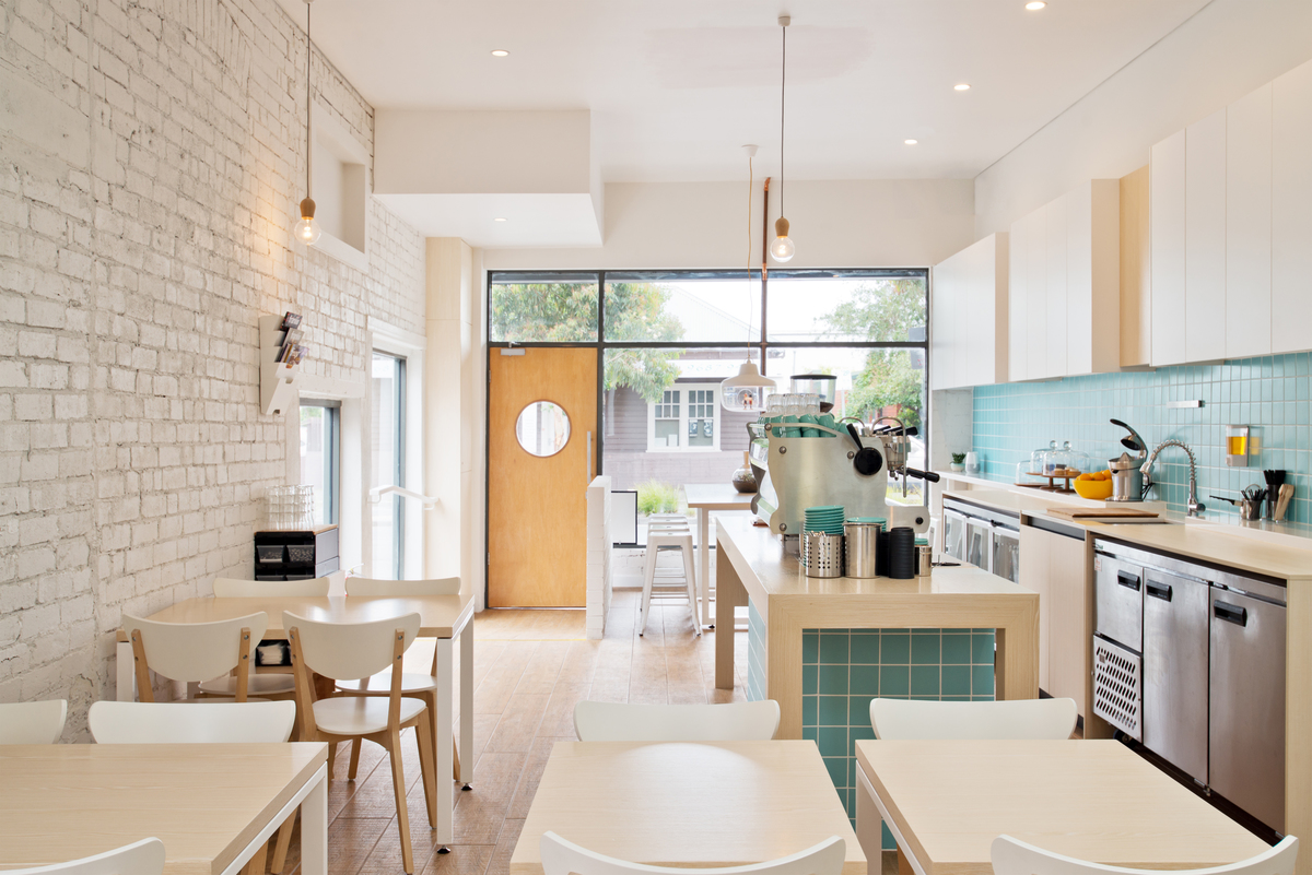 Kitchen and table space