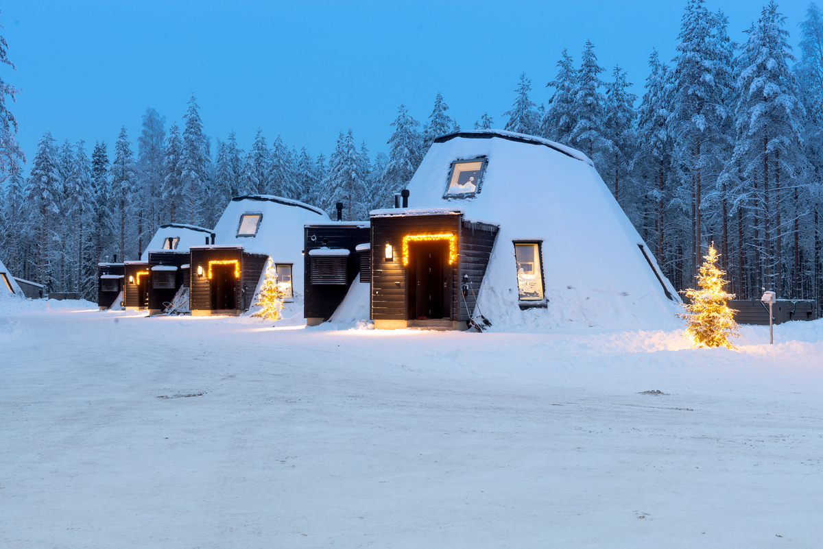 Lapland's Glass house