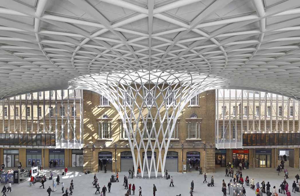 Arup Kings Cross Western Concourse by Hufton_Crow