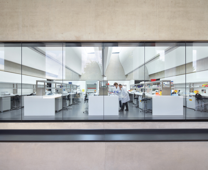 Sainsbury Laboratory by Arup. Image by Hufton+Crow