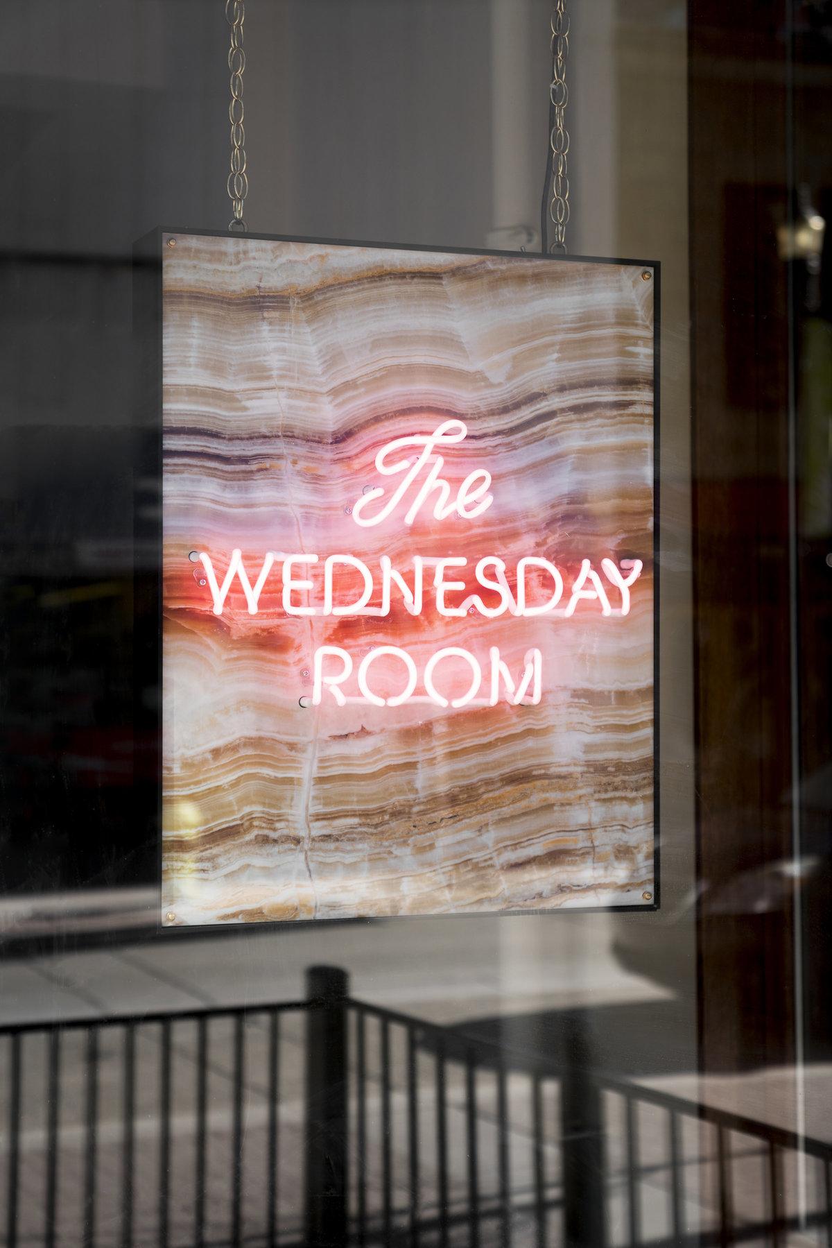The Wednesday Room branding