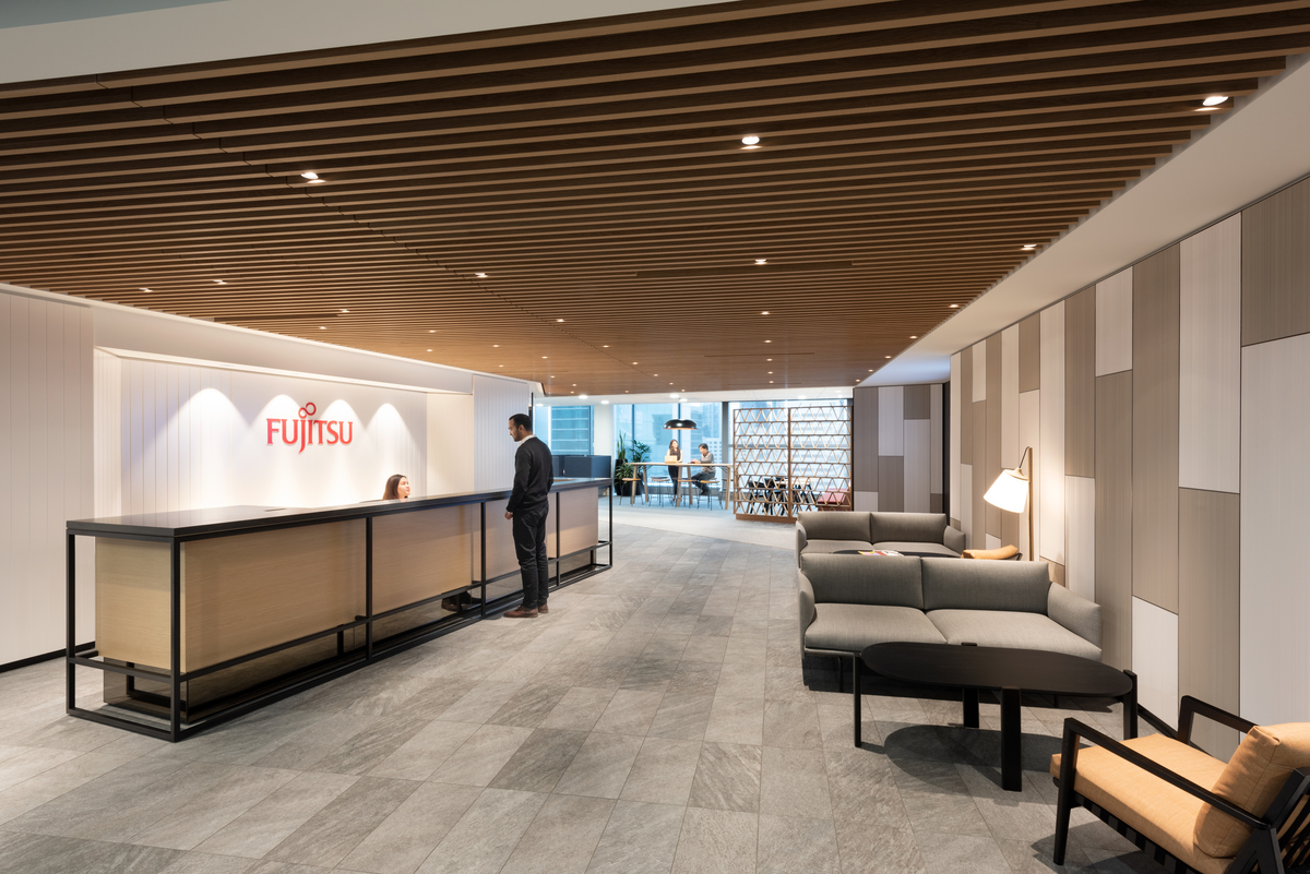 Fujitsu worplace