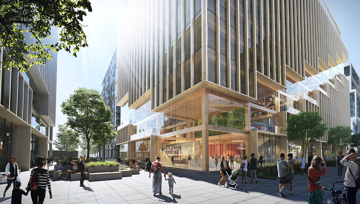 3XN's new timber office tower