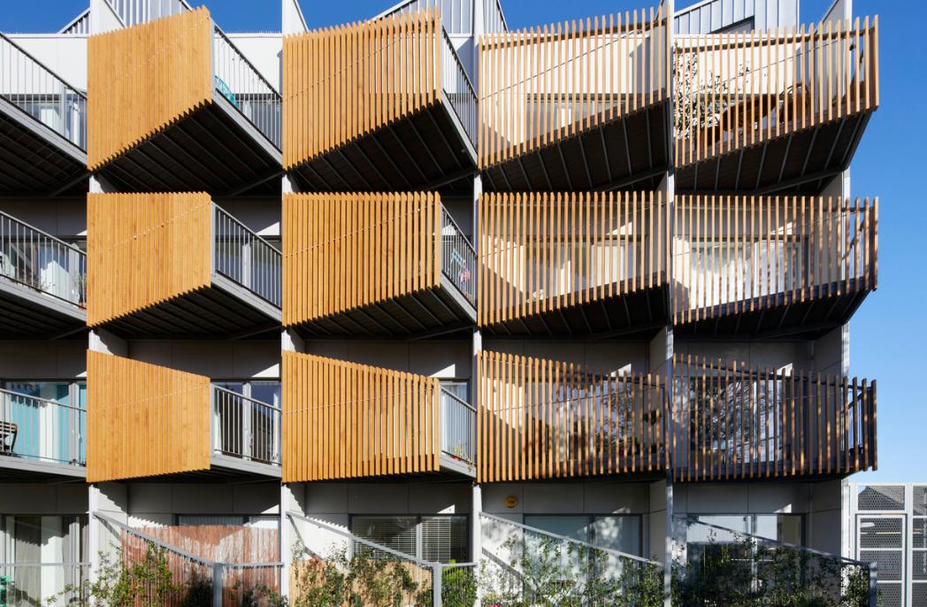 Alma-nac designs multi residential block in Croydon