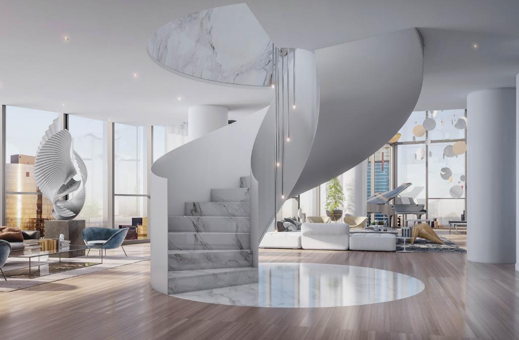 Carr designs Melbourne Square penthouse