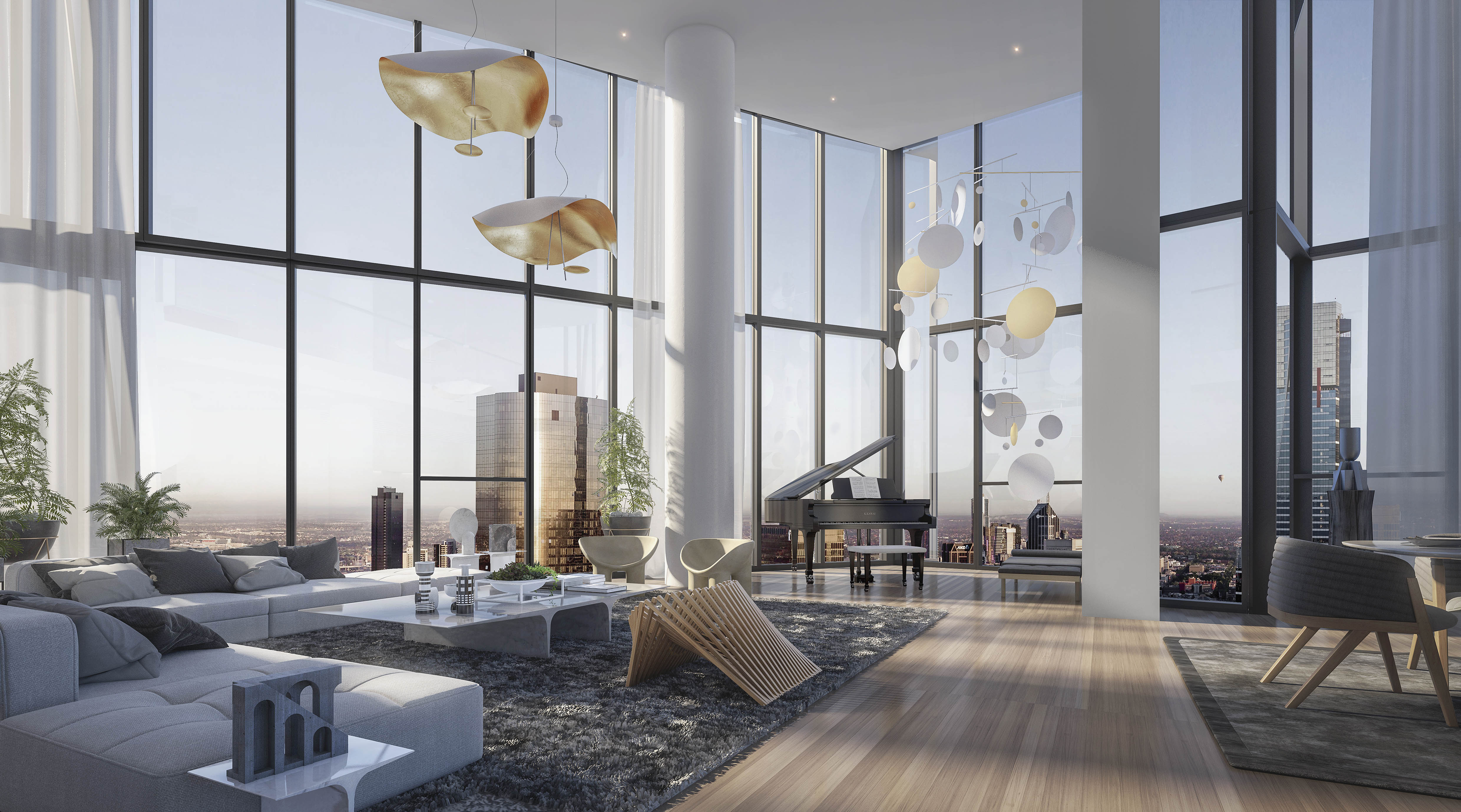 OSKH Penthouses Living